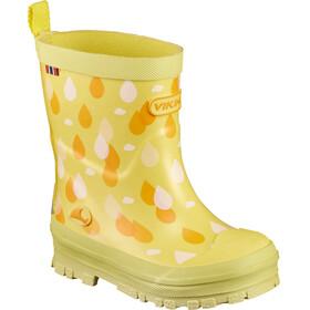 Viking Footwear Dråpe - Botas de agua Niños - amarillo/naranja